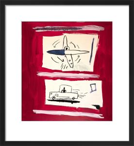 Untitled, 1985 by Jean-Michel Basquiat