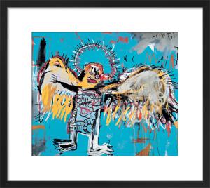 Untitled (Fallen Angel) 1981 by Jean-Michel Basquiat