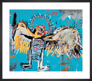 Untitled (Fallen Angel) 1981 by Jean-Michel Basquiat