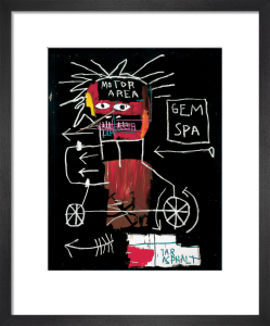 Untitled (Gem Spa) 1982 by Jean-Michel Basquiat