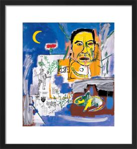 Raw Fish, 1984 by Jean-Michel Basquiat