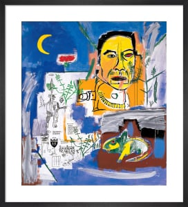 Raw Fish, 1984 by Jean-Michel Basquiat