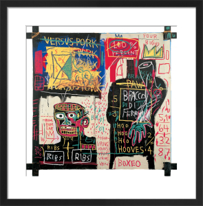 The Italian version of Popeye has no Pork in his Diet, 1982 by Jean-Michel Basquiat