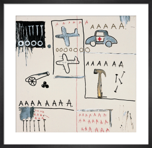Untitled (Vehicles) 1981 by Jean-Michel Basquiat