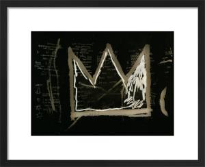 600 Dollars in Dimes (detail) 1982-3 by Jean-Michel Basquiat