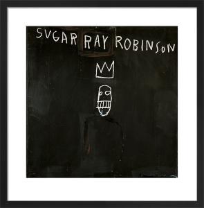 Untitled (Sugar Ray Robinson) 1982 by Jean-Michel Basquiat