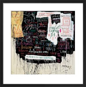 Museum Security (Broadway Meltdown) 1983 by Jean-Michel Basquiat