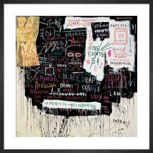 Museum Security (Broadway Meltdown) 1983 by Jean-Michel Basquiat