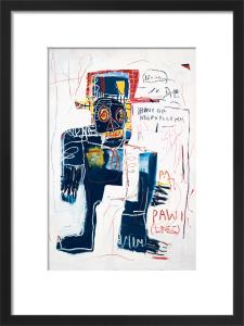 Irony of Negro Policeman, 1981 by Jean-Michel Basquiat