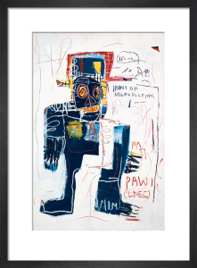 Irony of Negro Policeman, 1981 by Jean-Michel Basquiat