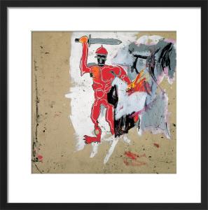 Untitled (Red Warrior) 1982 by Jean-Michel Basquiat