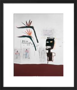 Bird of Paradise, 1985 by Jean-Michel Basquiat