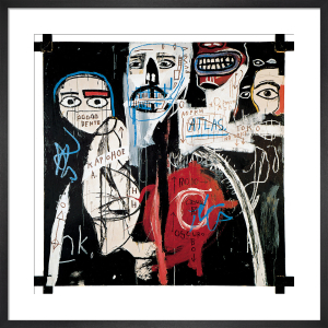 In the Cypher, 1982 by Jean-Michel Basquiat