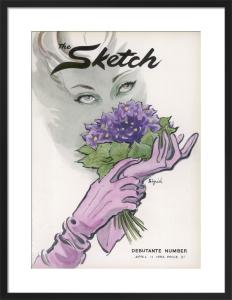 The Sketch, 11 April 1957 by Sigrid Hunt