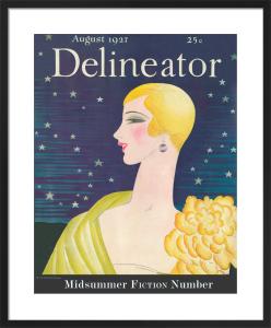 Delineator, August 1927 by Helen Dryden