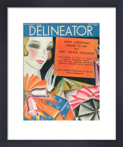 Delineator, December 1929 by Helen Dryden