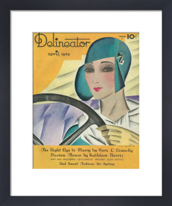 Delineator, April 1929 by Helen Dryden