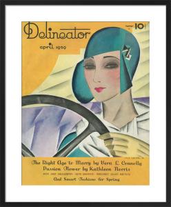 Delineator, April 1929 by Helen Dryden