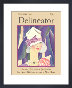 Delineator, February 1927 by Helen Dryden