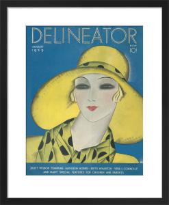Delineator, August 1929 by Helen Dryden