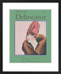 Delineator, January 1927 by Helen Dryden