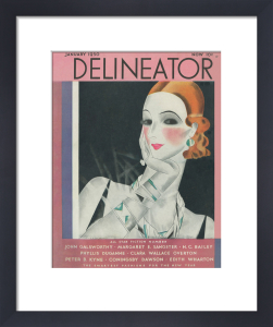 Delineator, January 1930 by Helen Dryden