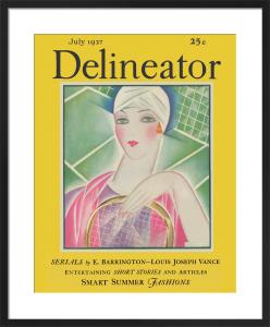 Delineator, July 1927 by Helen Dryden