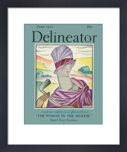 Delineator, June 1927 by Helen Dryden