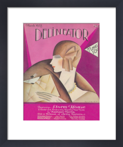 Delineator, March 1928 by Helen Dryden