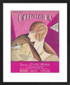 Delineator, March 1928 by Helen Dryden