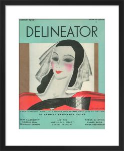 Delineator, March 1930 by Helen Dryden