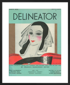 Delineator, March 1930 by Helen Dryden
