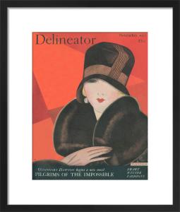 Delineator, November 1927 by Helen Dryden