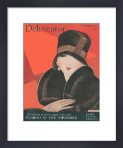 Delineator, November 1927 by Helen Dryden