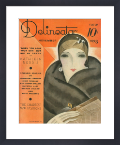Delineator, November 1928 by Helen Dryden