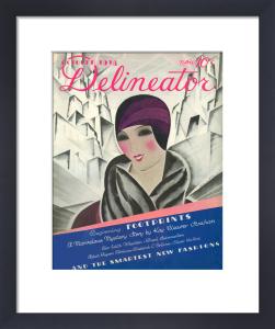 Delineator, October 1928 by Helen Dryden