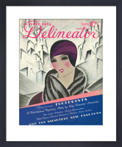 Delineator, October 1928 by Helen Dryden