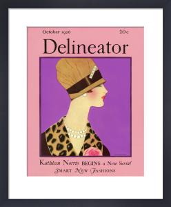 Delineator, October 1926 by Helen Dryden