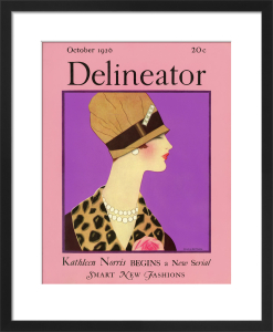 Delineator, October 1926 by Helen Dryden