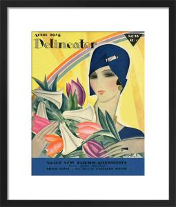 Delineator, April 1928 by Helen Dryden