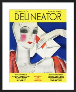 Delineator, February 1930 by Helen Dryden
