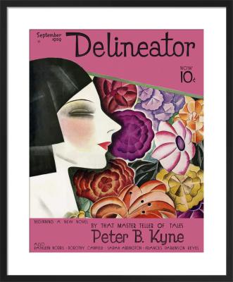 Delineator, September 1929 by Helen Dryden