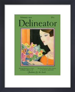 Delineator, February 1928 by Helen Dryden