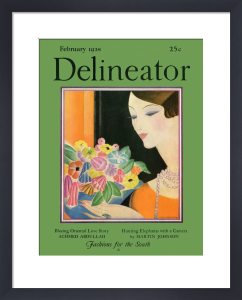 Delineator, February 1928 by Helen Dryden