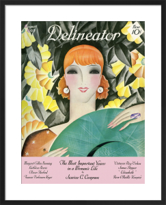 Delineator, August 1928 by Helen Dryden