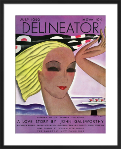 Delineator, July 1929 by Helen Dryden