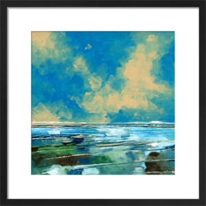 Squared Seascape 1 by Stuart Roy