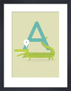 A is for Alligator by Sugar Snap Studio