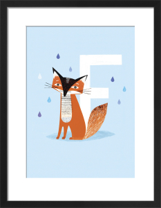 F is for Fox by Sugar Snap Studio