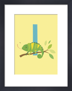 I is for Iguana by Sugar Snap Studio